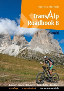 Transalp Roadbook 8 cover