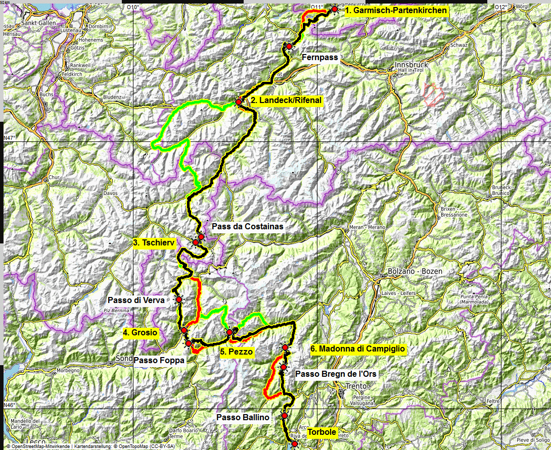00 map Albrecht Route eMTB
