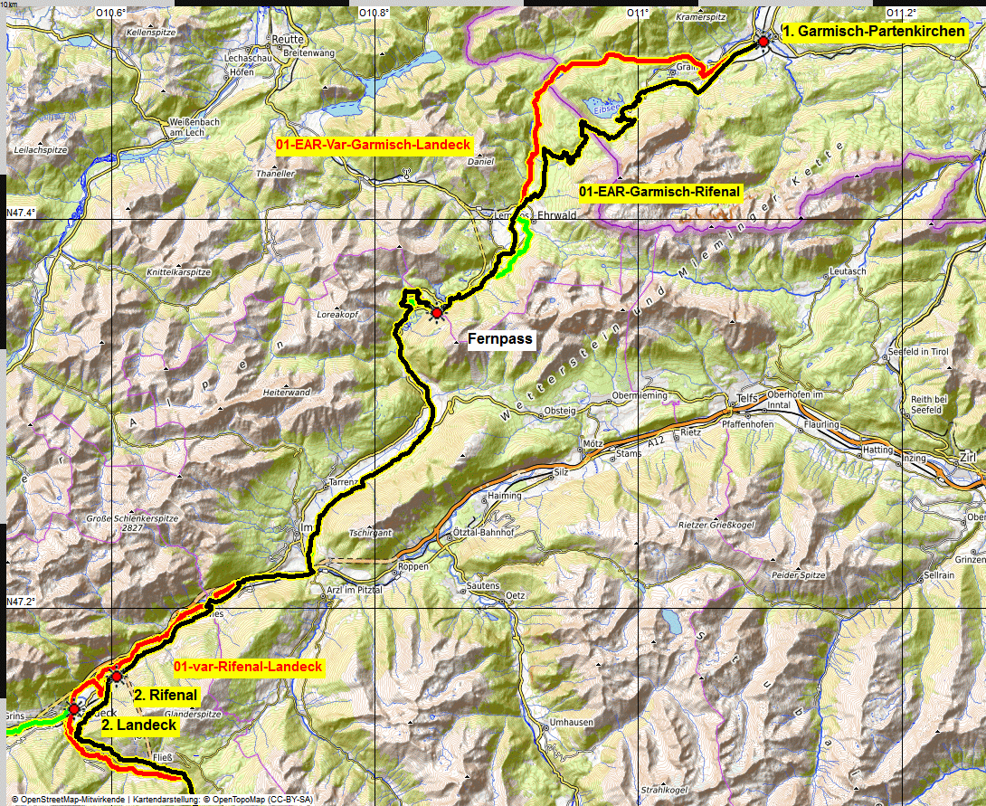 01 map Albrecht Route eMTB