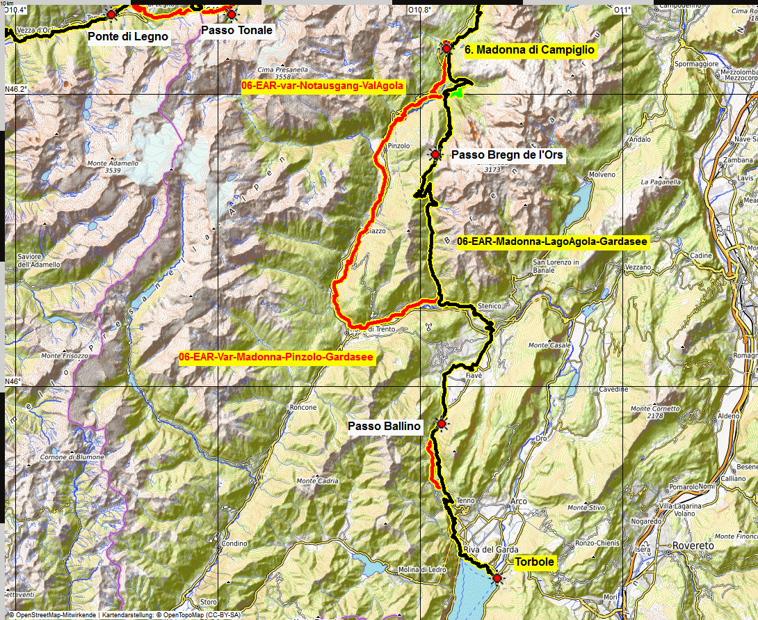 06 map Albrecht Route eMTB
