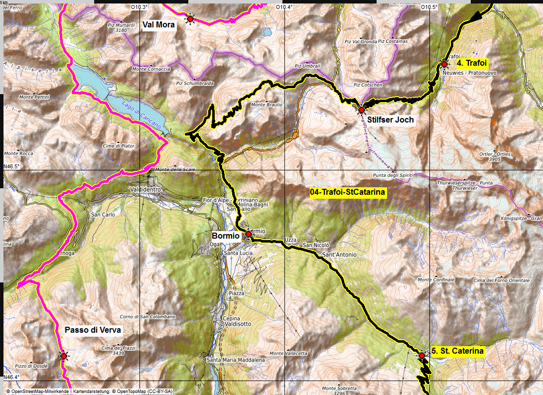 04 map albrecht route uina