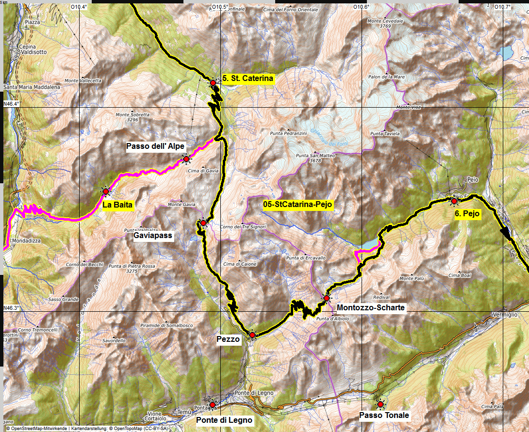 05 map albrecht route uina