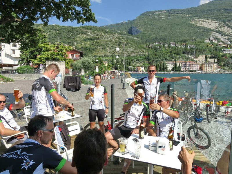 Finisher Albrecht-Route am Gardasee