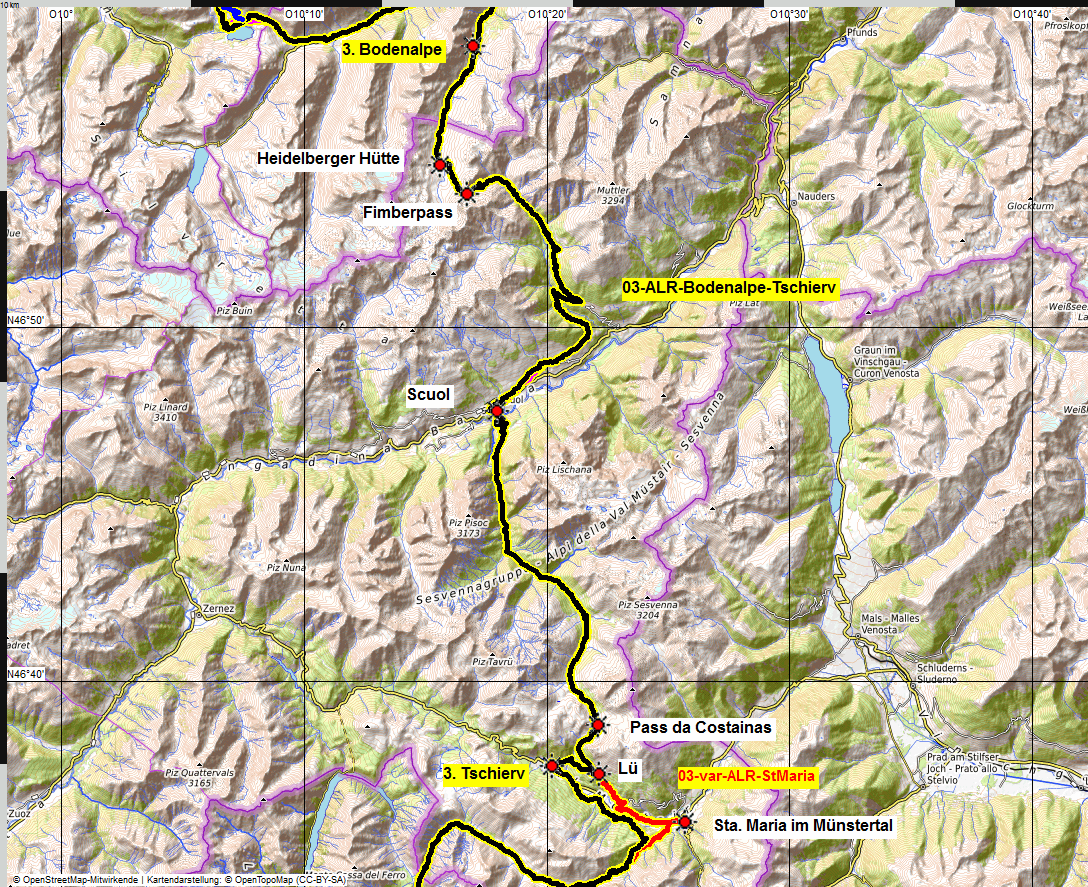 03 map albrecht route