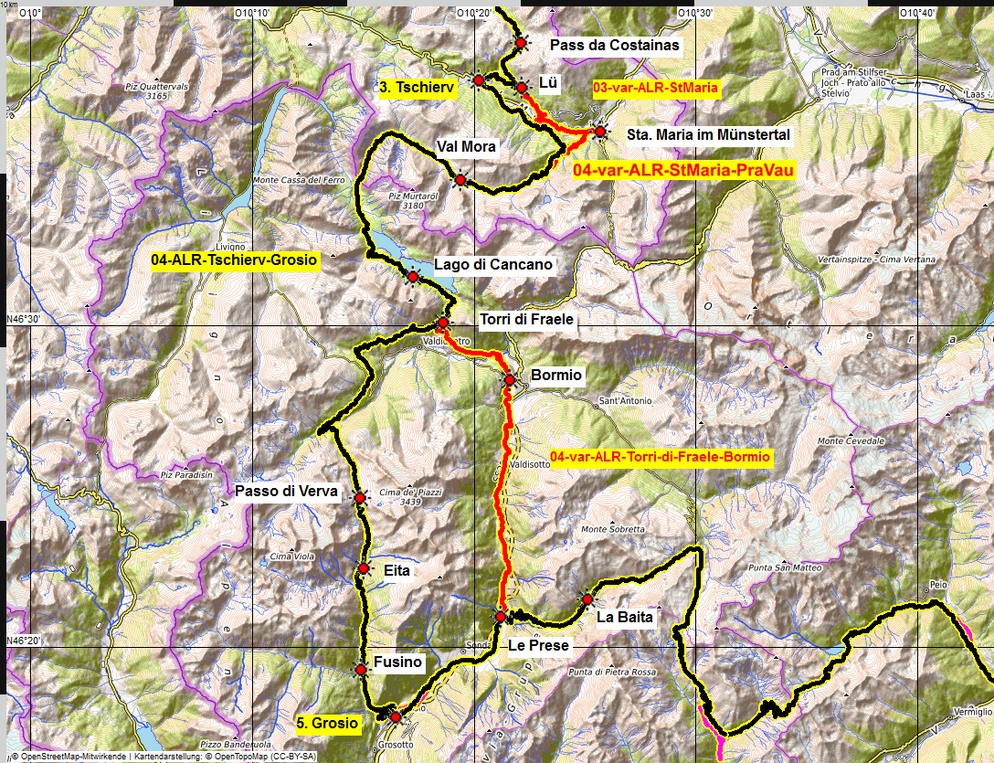04 map albrecht route