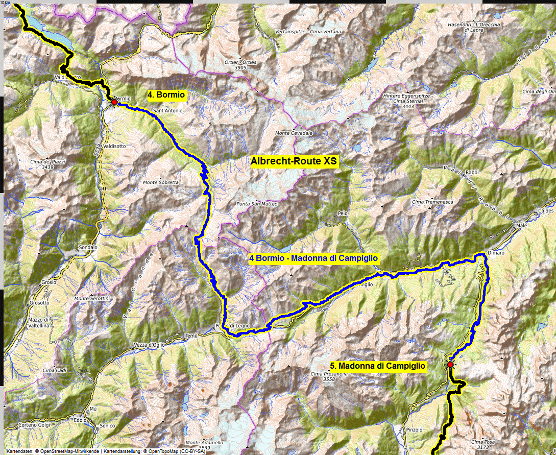 04 map albrecht route XS