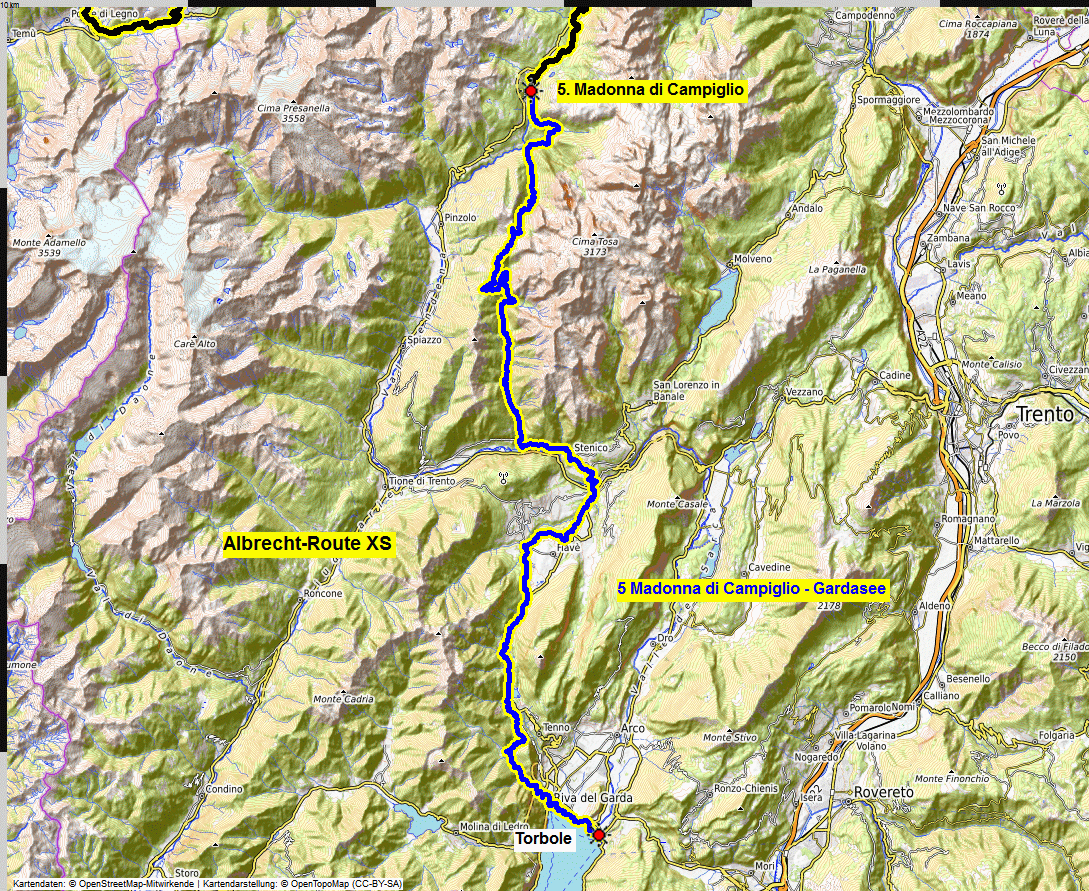 05 map albrecht route XS
